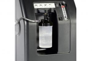 Detailansicht des Atemgasbefeuchters am Compact 525