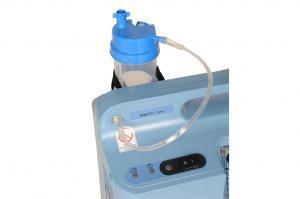 Detailansicht des stationären Sauerstoffkonzentrators EverFlo mit Befeuchterbehälter