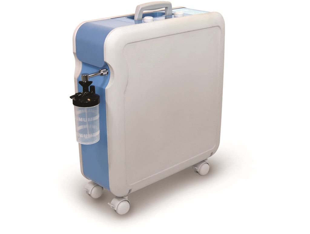 Vollansicht des Kroeber 4.0 mit Atemgasbefeuchter