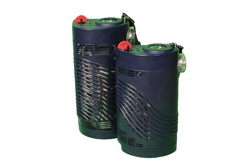 HF Stroller und Sprint stehen nebeneinander. mobile Flüssigsauerstoffgeräte