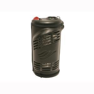 HF Stroller in der Ledertasche. mobile Flüssigsauerstoffgeräte