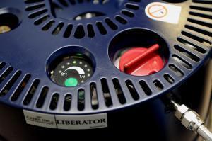 Detailansicht Füllstandanzeige. Liberator 60