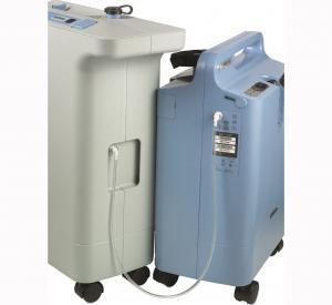 Der UltraFill füllt in Verbindung mit dem EverFlo den Sauerstoff ab.