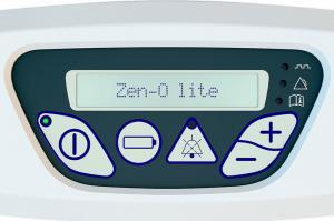 Vergrößerte Detailansicht des Bedienfeldes vom Zen-O lite. - Zen-O liteDetailansicht des Bedienfeldes vom Zen-O lite
