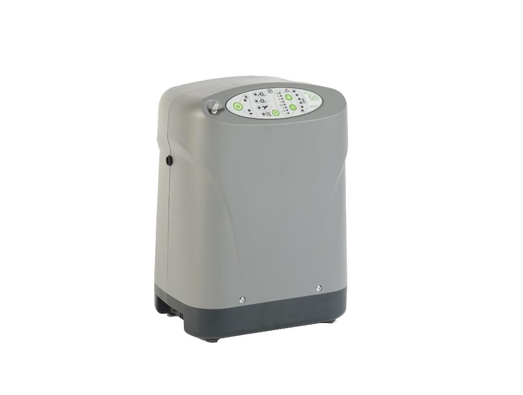 : Detailbild des transportablen Sauerstoffkonzentrator iGo ohne Tasche und Zubehör